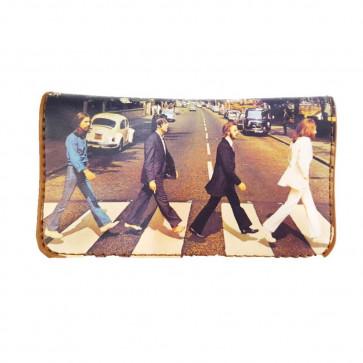 Tabaquera porta tabaco La Siesta piel modelo 11 Beatles