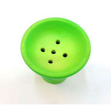 Cazoleta de cerámica fluor grande verde