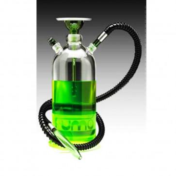 Shisha Fumo Jar de Vidrio y acero