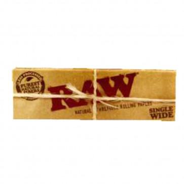 Caja con 24 uds. de Papel  De  Fumar Raw  normal 1 1/4