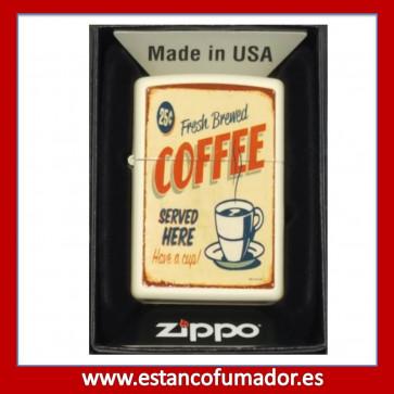 MECHERO ZIPPO COFFEE VINTAGE