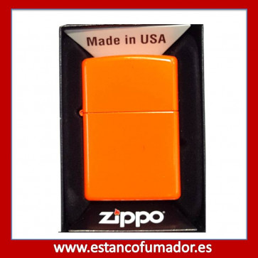 MECHERO ZIPPO NEON ORANGE