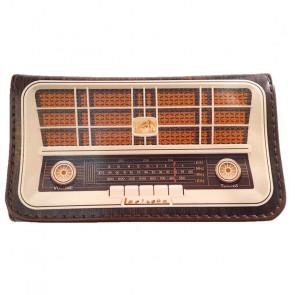 Tabaquera porta tabaco La Siesta piel modelo 17 radio