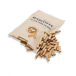Filtro Mascotte orgánico, 120 filtros 6 mm extra largo (19 mm)