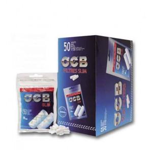 Caja de 50 unidades de Filtros OCB Slim de 150