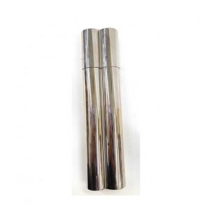 Purera metalica para 2 cigarros