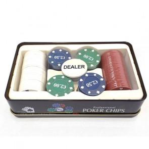 Juego fichas de póker