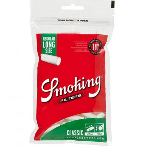 Filtro SMOKING 8 mm EXTRA LARGO (22MM)