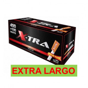 Tubos Xtrem Xtra 400+100 FILTRO LARGO