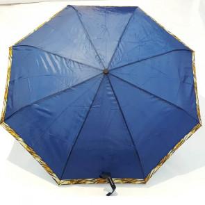 Paraguas plegable, modelo azul