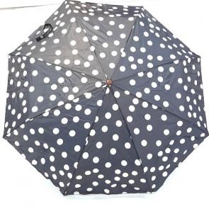 Paraguas plegable, lunares