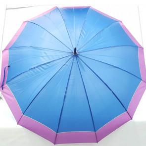 Paraguas grande azul