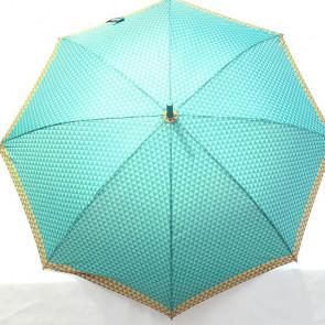 Paraguas grande verde hidro repelente