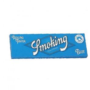 Caja con 50 uds. de Papel  De  Fumar Smoking Azul