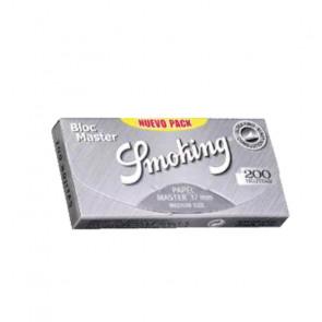 Caja con 40 uds. de Papel  De  Fumar Smoking 200 gris Master