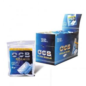 Caja con 30 unidades de  Filtros OCB Regular de 100