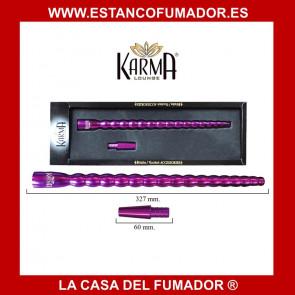 BOQUILLA  ALUMINIO KARMA 32 CM MORADA