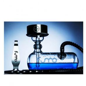 Shisha Fumo Tank de Vidrio y acero