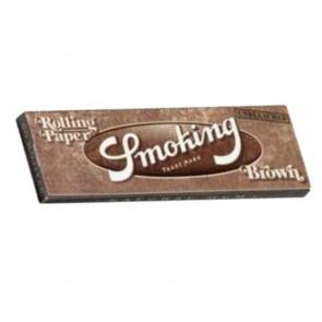 Caja con 50 uds. de Papel  De  Fumar Smoking marrón  corto