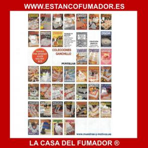 MUESTRAS Y MOTIVOS CREACIONES ARTIME, LABORES DE ORO MANTELES 12
