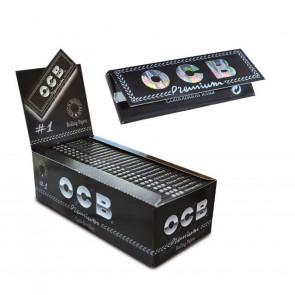Caja con 25 uds. de Papel  De  Fumar OCB Premium Negro