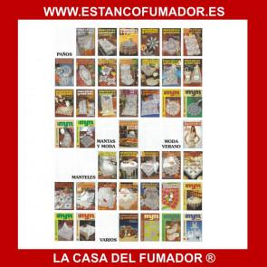 MUESTRAS Y MOTIVOS CREACIONES ARTIME, ESPECIAL PAÑOS 18