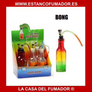 BONG PIPA DE AGUA BOTELLA DE ALCOHOL