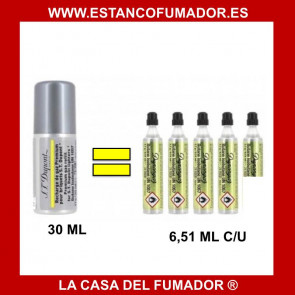 Gas Dupont AMARILLA 30ml