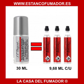 GAS DUPONT ROJA 30 ML