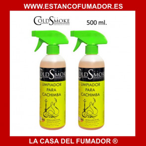 LIMPIADOR CACHIMBA 500 ML COLD SMOKE