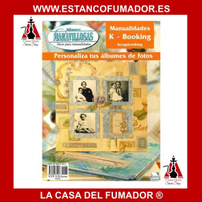 MANOS MARAVILLOSAS K-BOOKING SCRAPBOOKING