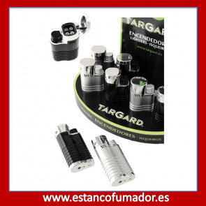 Encendedor Turbo Soplete 4 llamas Negro