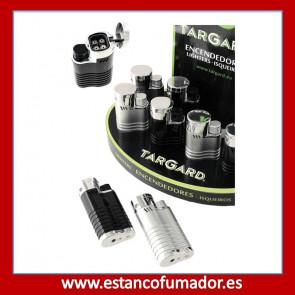 Encendedor Turbo Soplete 4 llamas plata