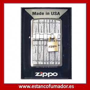 MECHERO ZIPPO CLOSED VINTAGE, RELIEVE