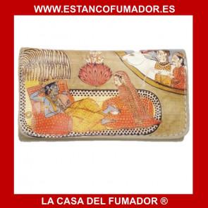 TABAQUERA DE PIEL LA SIESTA MOD 42