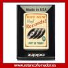 MECHERO ZIPPO RECORDS VINTAGE