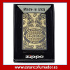 MECHERO ZIPPO SCROLL BLACK