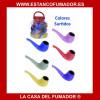PIPA DE SILICONA 10 CM COLORES SURTIDOS