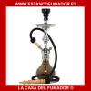 SHISHA ALADIN BARCELONA GRIS 52 CM 1 MANGUERAS