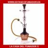 SHISHA ALADIN LIMA NEGRA Y AMBAR 65.5CM 1 MANGUERA